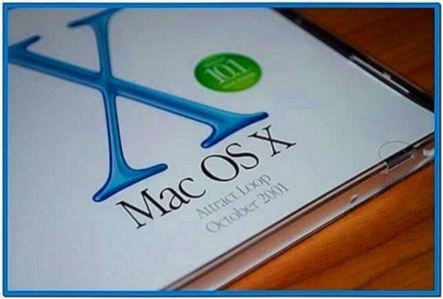 Apple Screensaver Demo