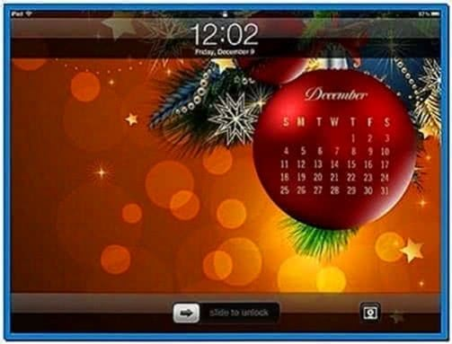 Apple Store Christmas Screensaver