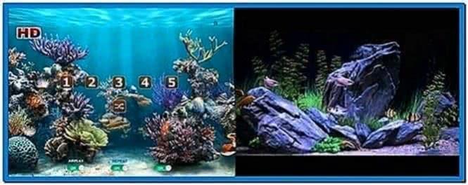 Apple TV Aquarium Screensaver