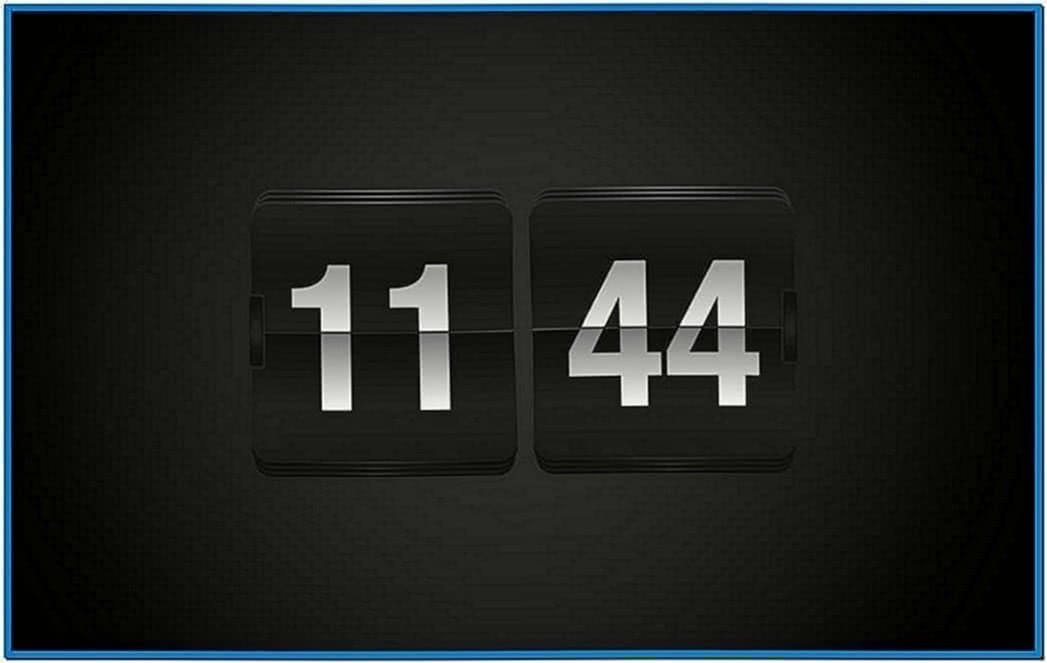 Apple TV Clock Screensaver