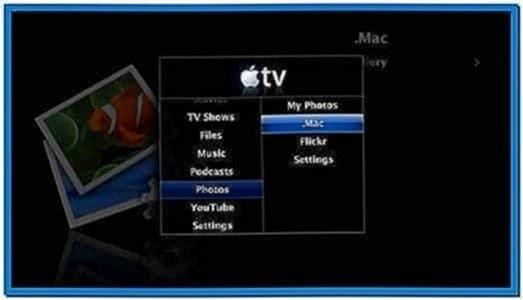 Apple TV Photo Screensaver Mac