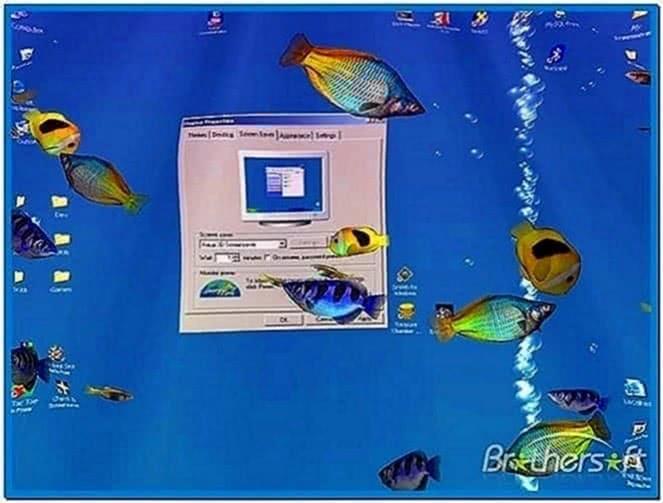 Aqua 3D screensaver 1.52
