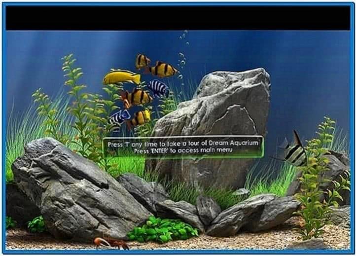 Aqua Fish Tank Screensaver