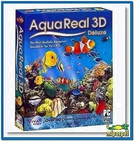 Aquareal 3D Aquarium Screensaver 1.5.1