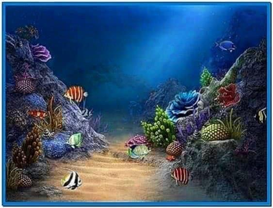Aquareal 3D Sea Aquarium Screensaver