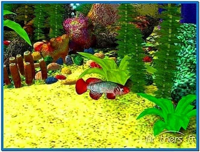 Aquarium 3D Screensaver for Macs