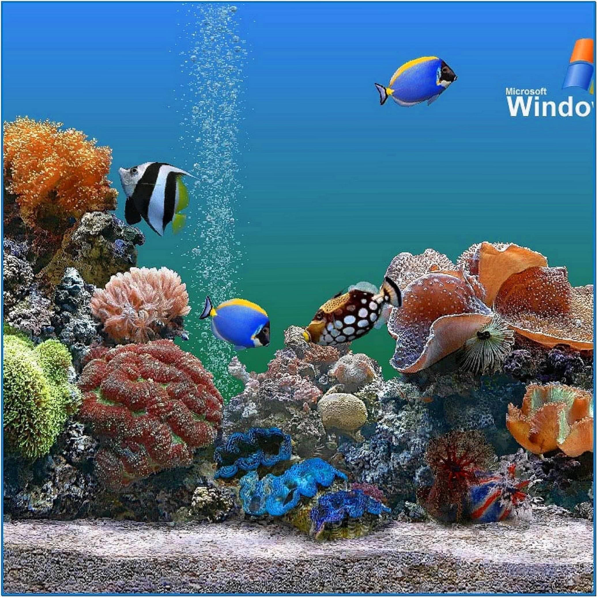 Aquarium Screensaver for iPad