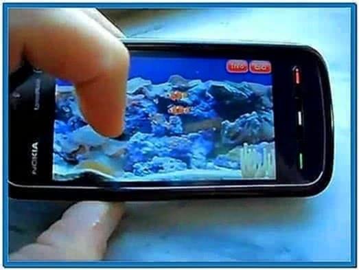 Aquarium Screensaver for Nokia 5230