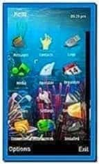 Aquarium Screensaver for Nokia 5233