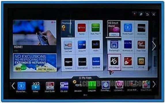 Aquarium Screensaver for Samsung Led TV