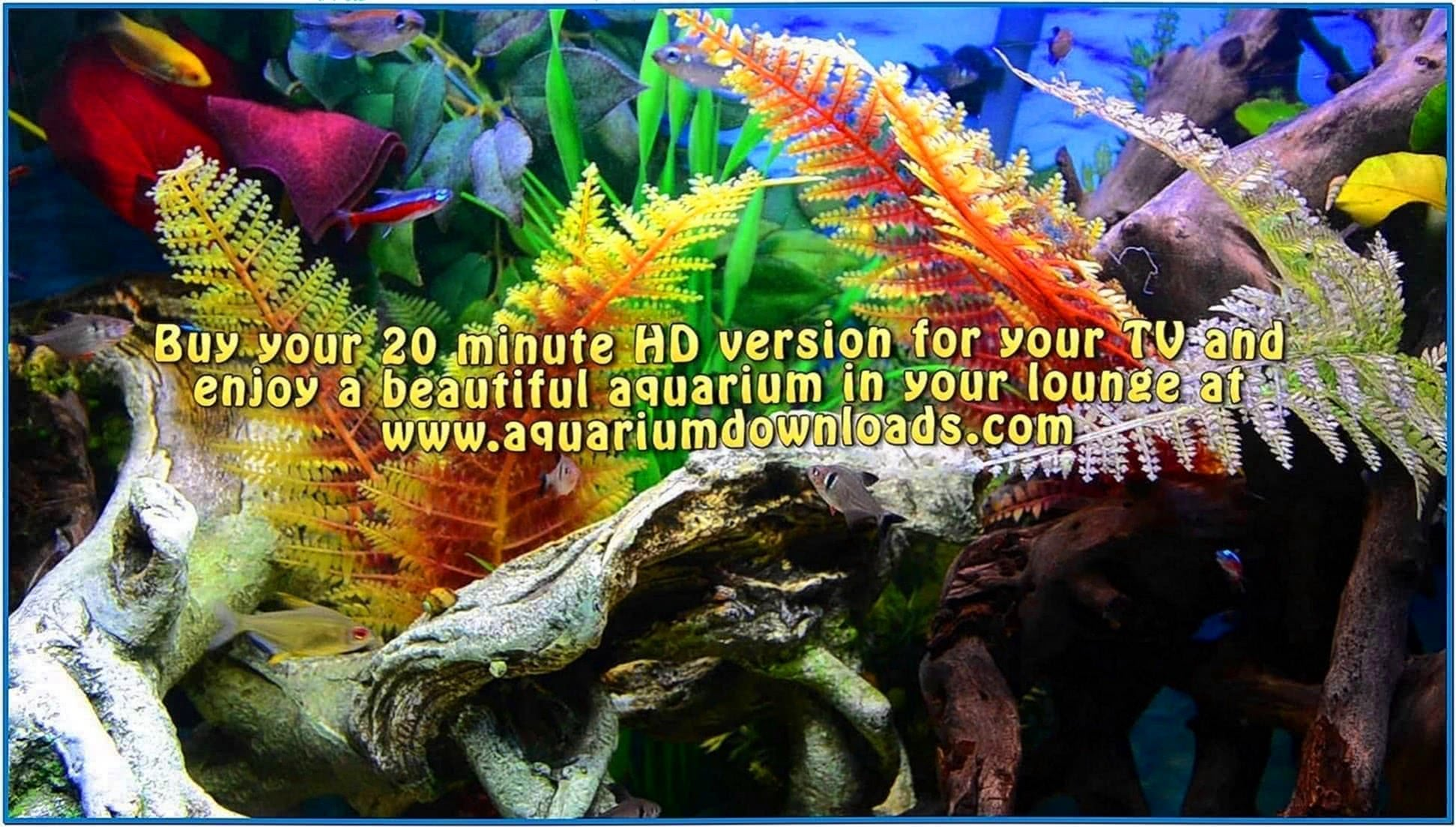 Aquarium Screensaver for Samsung Led TV