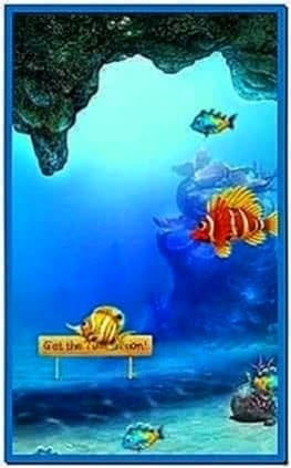 Aquarium Screensaver for Samsung Mobile