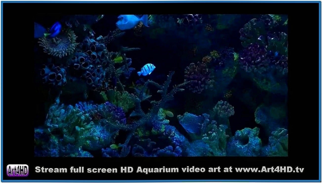 Aquarium Screensaver HD TV Art4hd 1080 Video