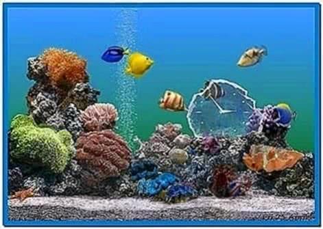 Aquarium screensavers Windows vista