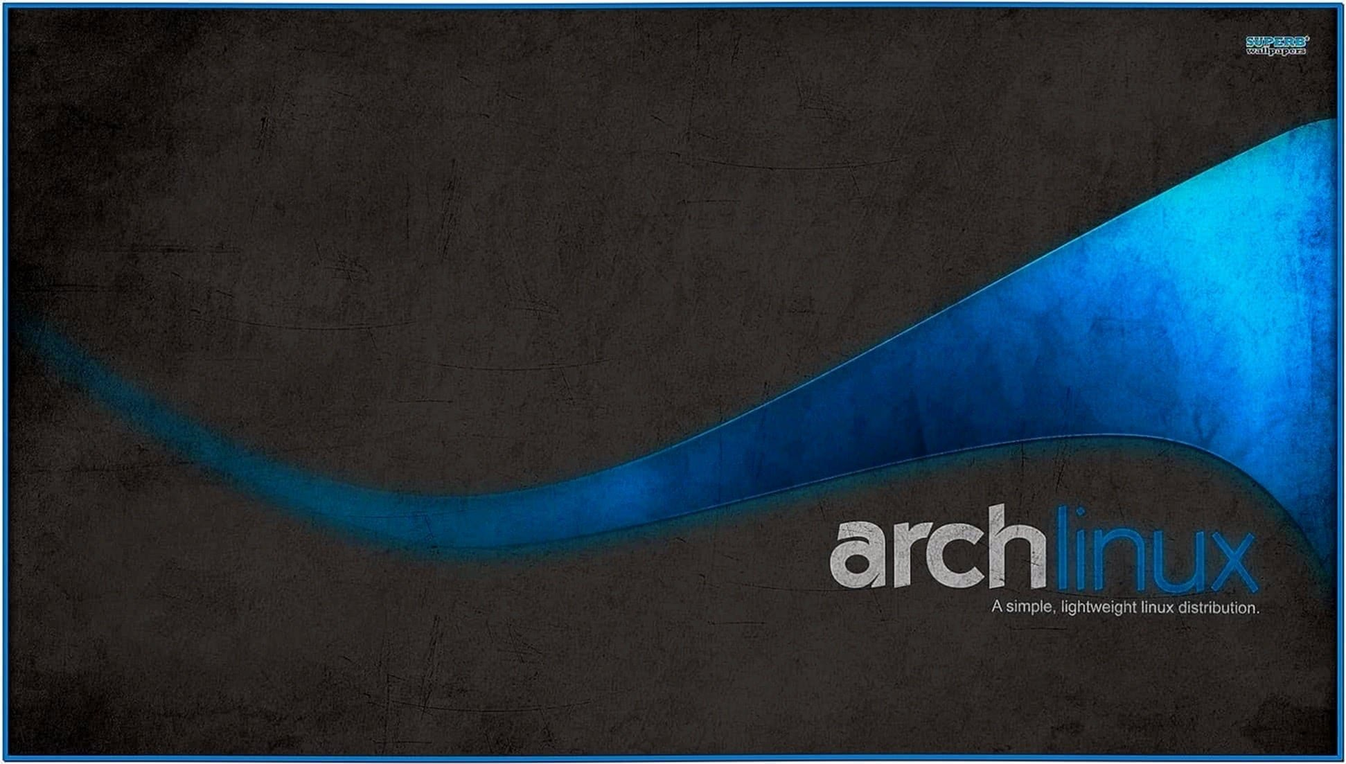 Arch Linux Console Screensaver
