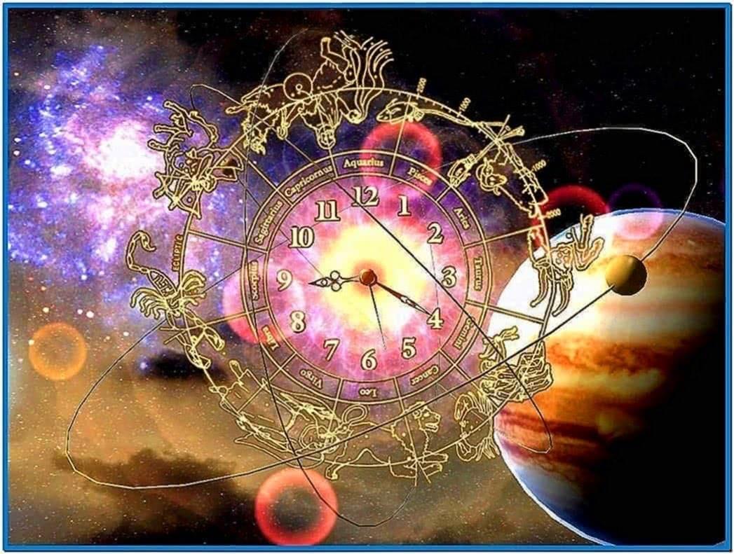 Astro Clock 3D Screensaver 1.1