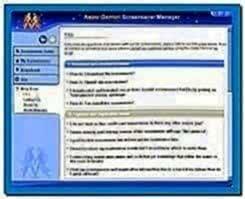Astro Gemini Screensaver Manager 2.0