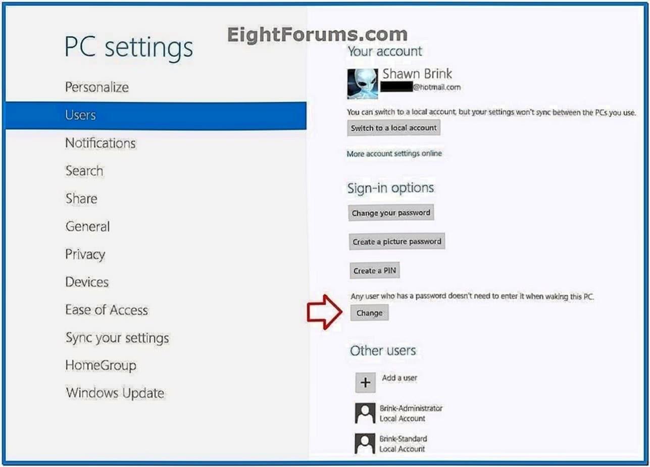 Asus Screensaver Protector Startup