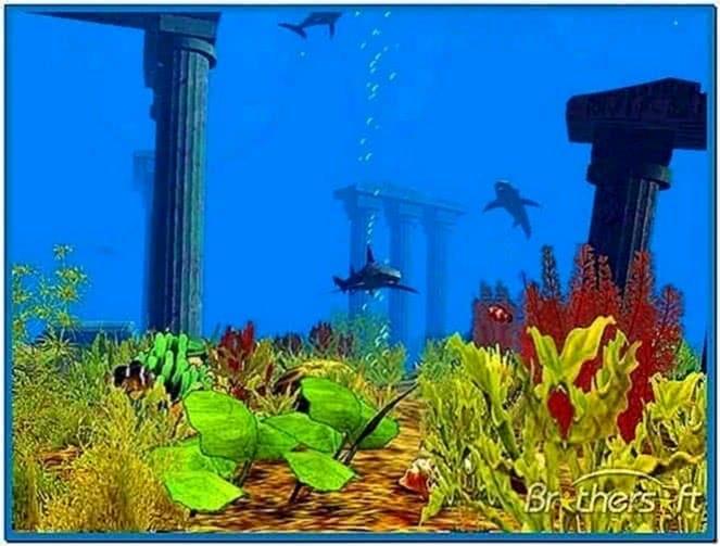 Atlantis 3D Screensaver 1.0