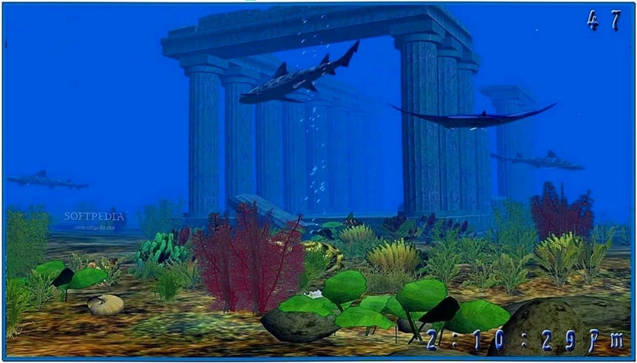 Atlantis 3D Screensaver