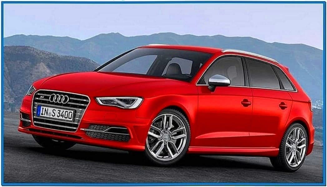 Audi A4 2020 Screensaver