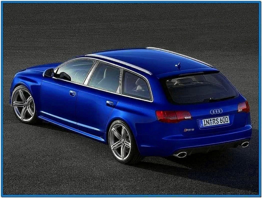 Audi A4 Avant Screensaver