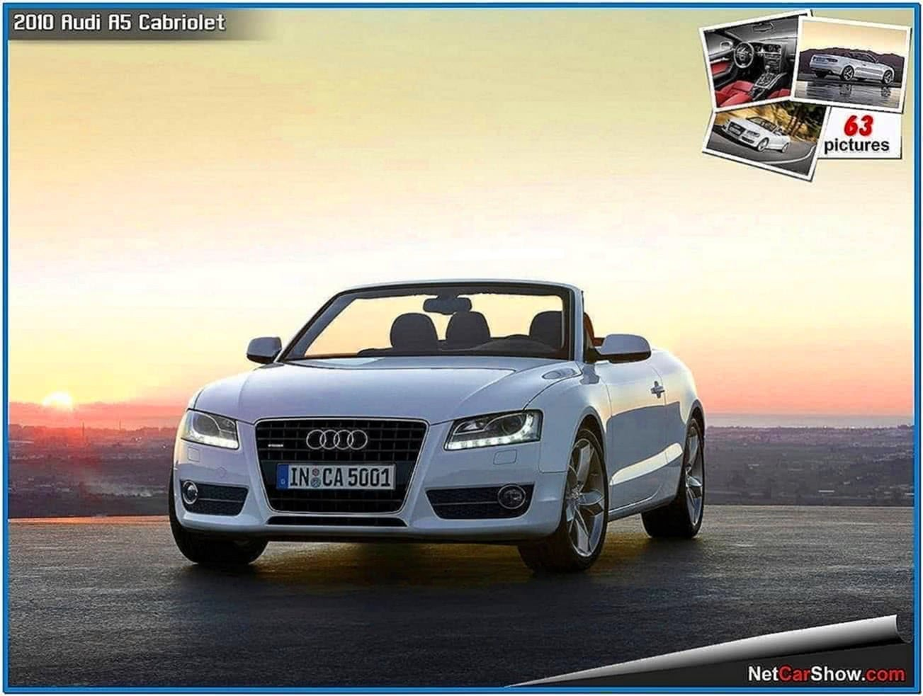 Audi A5 Cabriolet Screensaver