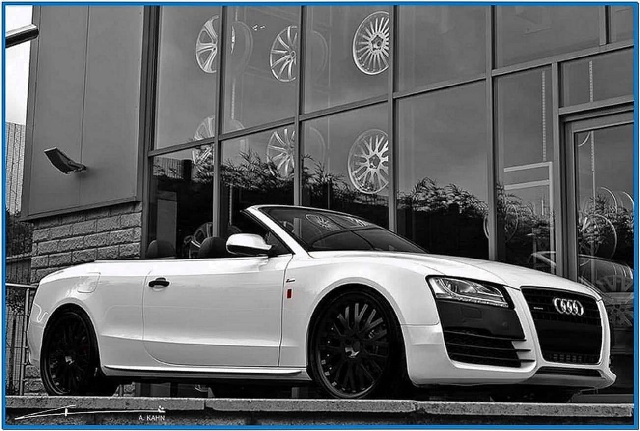 Audi A5 Convertible Screensaver