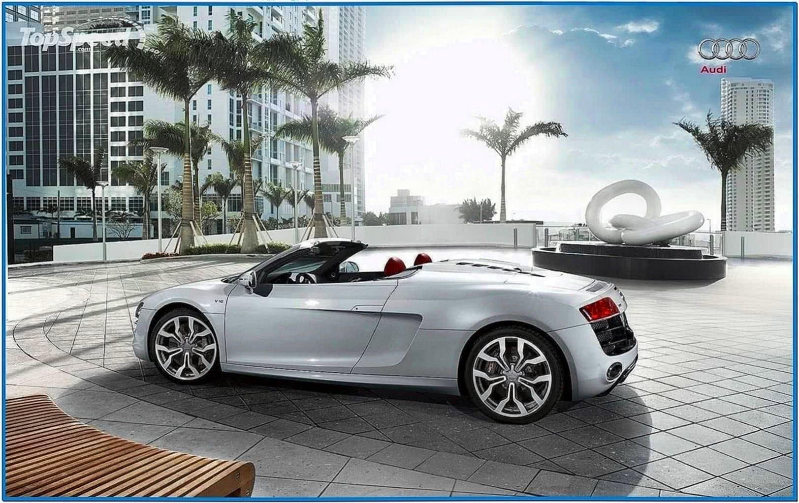 Audi r8 spyder screensaver