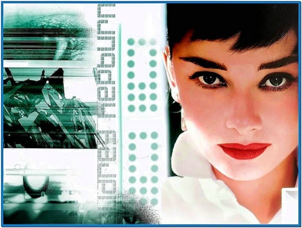 Audrey hepburn screensaver