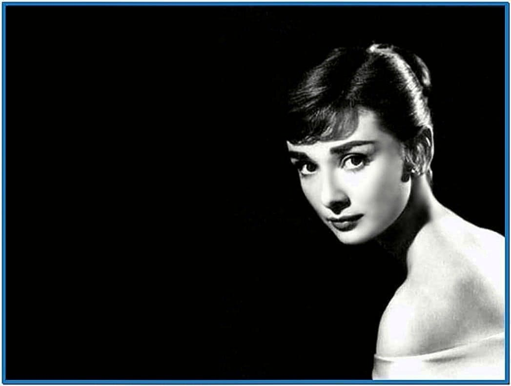 Audrey Hepburn Screensaver Mac