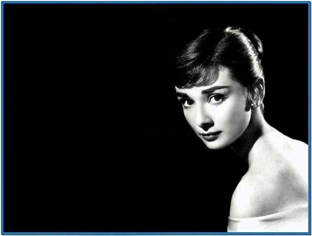 Audrey hepburn screensaver Mac