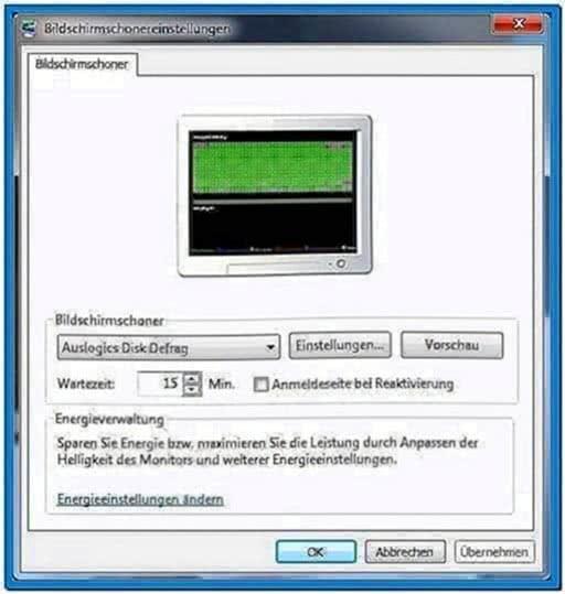 Auslogics Disk Defrag Screensaver Chip