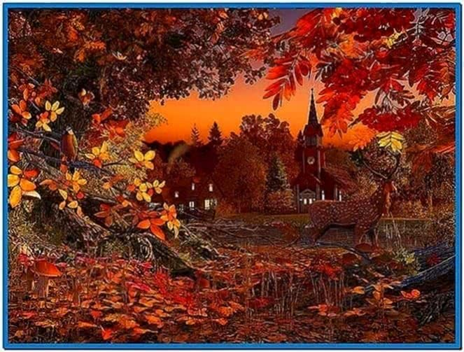 Autumn Wonderland 3D Screensaver 1.0