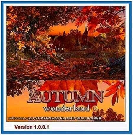 Autumn Wonderland 3D Screensaver 1.0.0.1