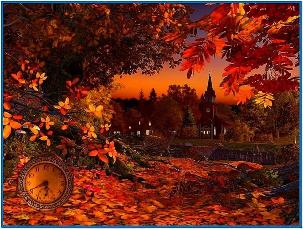 Autumn Wonderland 3D Screensaver