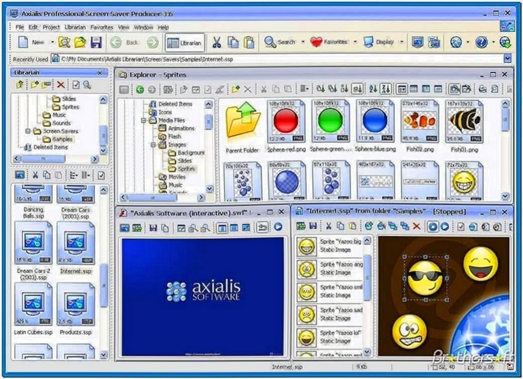Axialis Professional Screensaver Producer 3.5