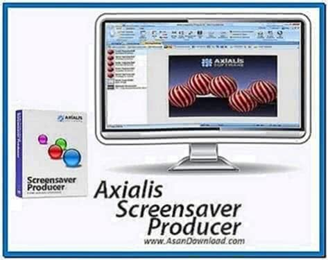Axialis Screensaver Producer Professional Full