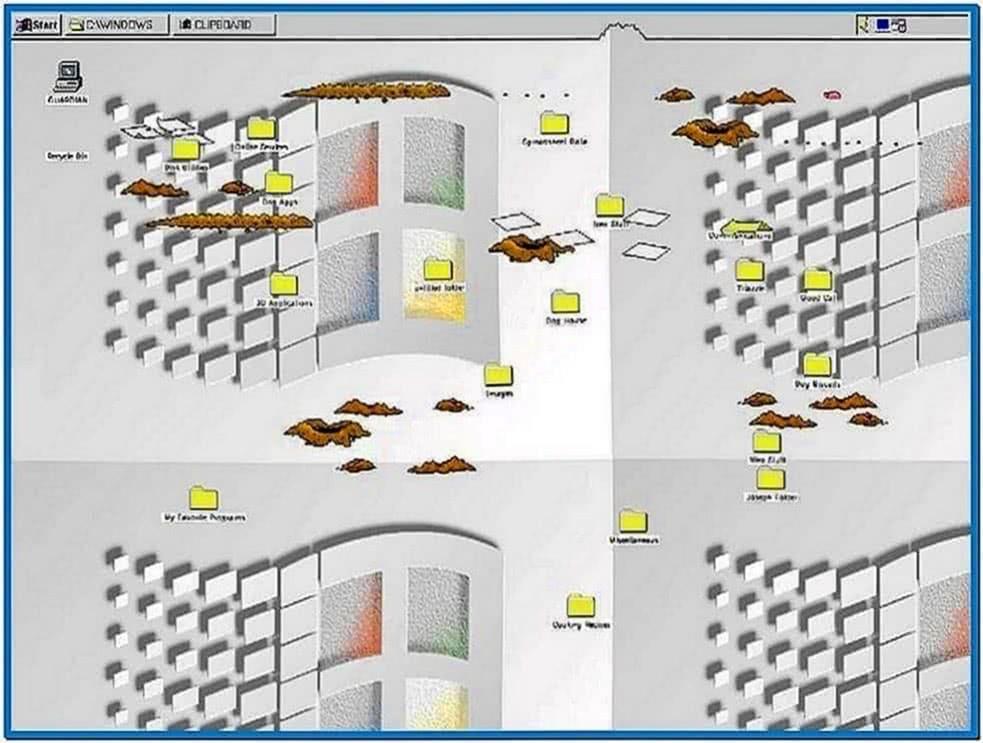 Bad Dog Old Mac Screensaver
