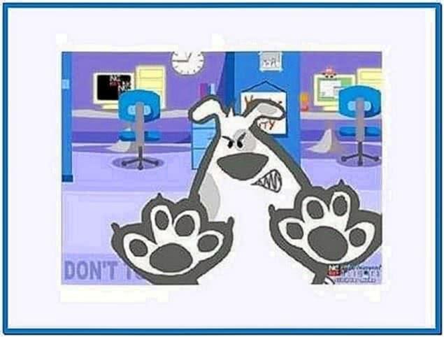 Barking Dog Screensaver