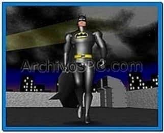 Batman begins 3D screensaver