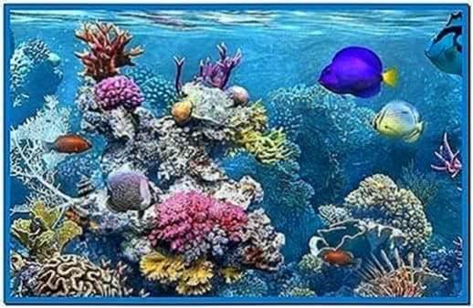 Best Aquarium Screensaver Vista