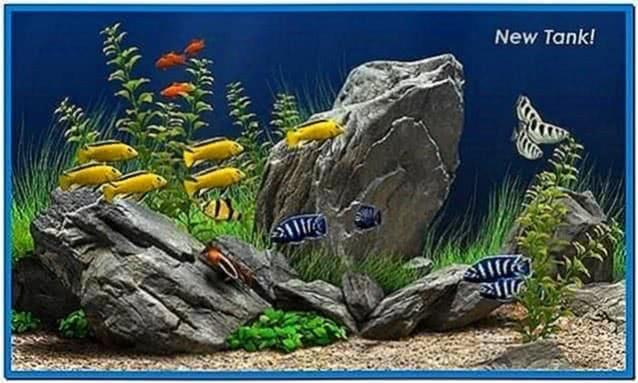 Best Aquarium Screensaver XP