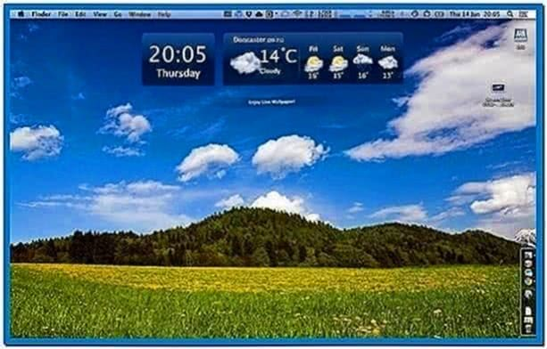 Best Mac OS X Live Screensavers