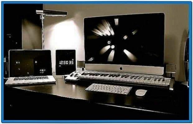 Best Mac screensavers snow leopard