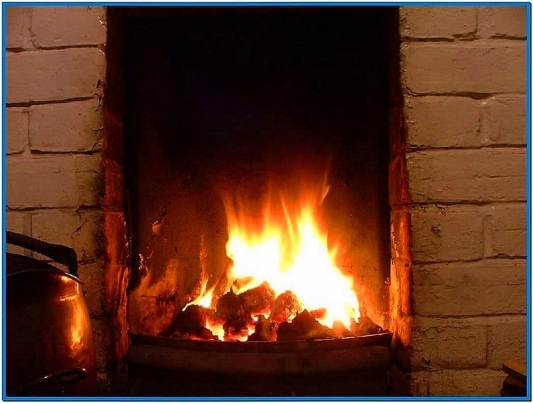 Best Real Fireplace Screensaver Download Free