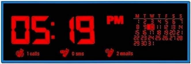 Big Clock Screensaver for Nokia 500