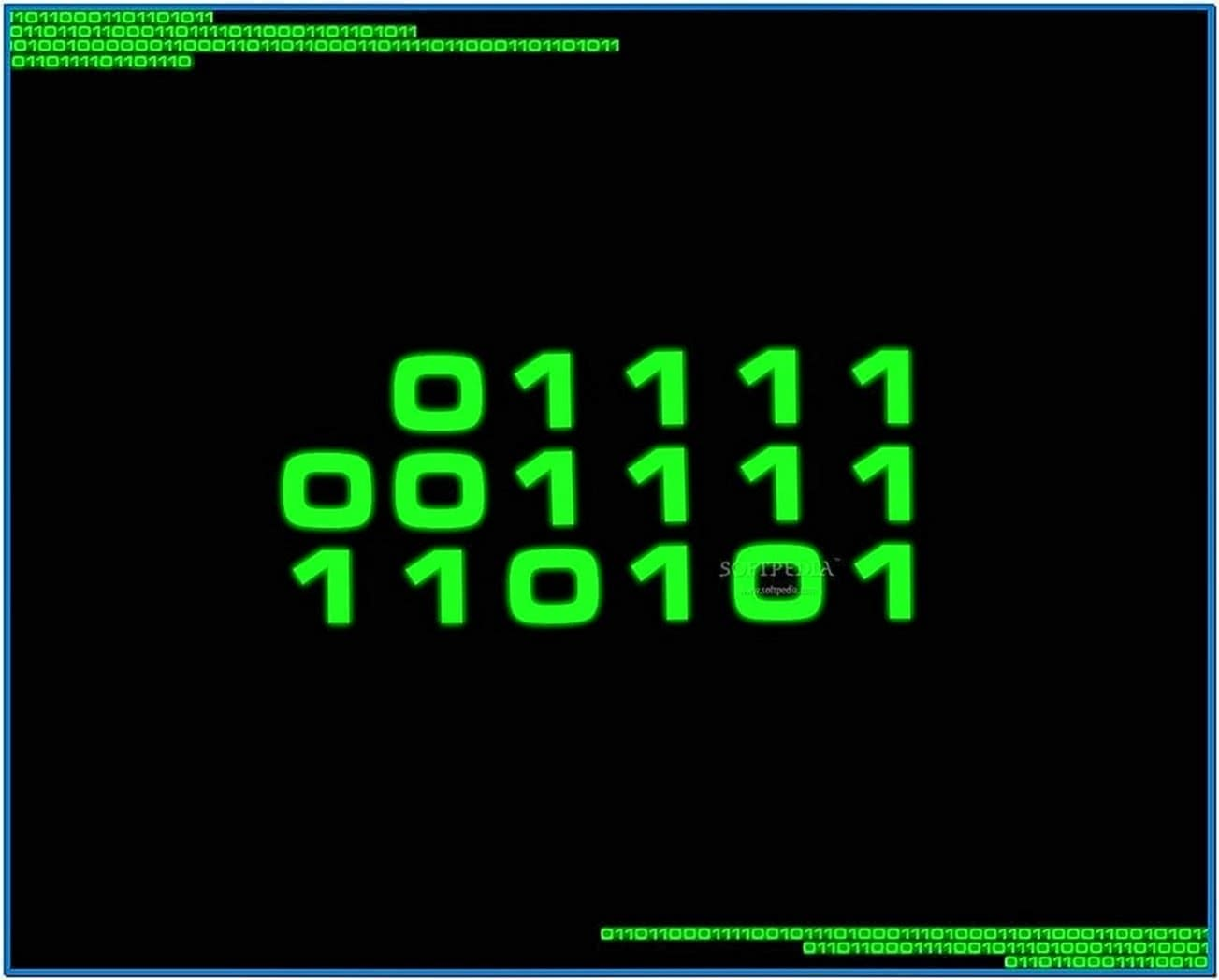 Binary Clock Screensaver Linux