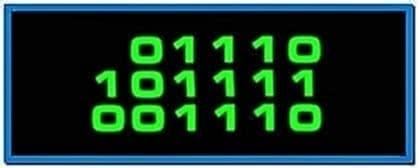 Binary clock screensaver ubuntu - Free download