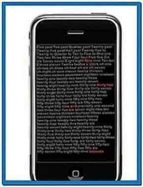 Binary Watch Screensaver Mac